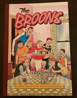 The Broons Book1991 Hardback Edition D C Thomson