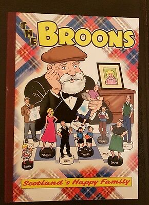 The Broons Book1999 Hardback Edition D C Thomson