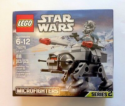 LEGO Star Wars AT-AT (75075) MICROFIGHTERS New in a Sealed Box Set- Series 2