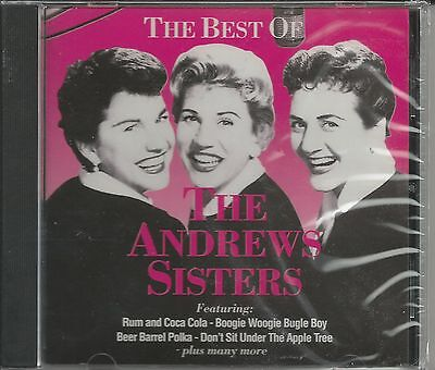 THE ANDREWS SISTERS CD - The Best Of The Andrews Sisters BRAND NEW