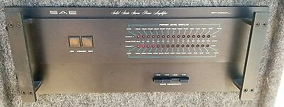 Vintage SAE 2400L Stereo Power  Amplifier Amp Exct
