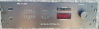 Vintage SAE 3200 FM Digital Stereo Tuner with Manual