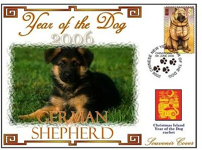 German Shepherd 2006 C/i Year Of The Dog Souv Cover #8