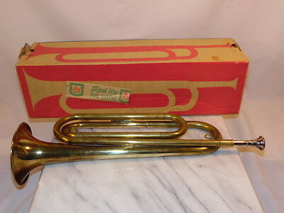 Vintage Rexcraft Official Boy Scouts of America Bugle USA