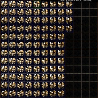 500x CHAOS ORBS - Legacy League Softcore/SC Path of Exile PoE Currency - US/EU