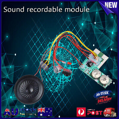 10s Sound Musical Voice Audio Recordable Recorder Module Chip Greeting Card Gift