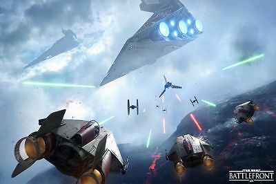 Star Wars Battlefront Art Print HD Painting on Canvas Home Decoration 16 H426