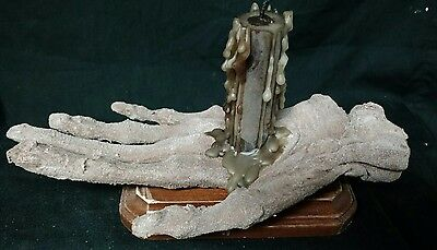 Mummified Hand of Glory,Myth,Folklore,Sideshow Gaff,Oddity,Prop,Macabre,Magic