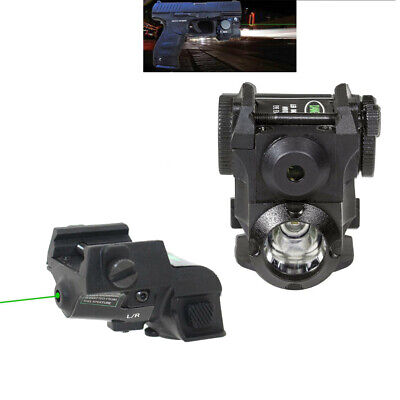 Micro Green/Red Dot Laser Sight Rechargeable Subcompact Pistol Green Laser Scope