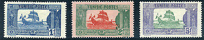 Tunisia 1921 Carthaginian Galley Stamps