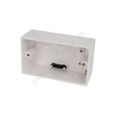 Mercury Double Surface Back Boxes - Box, 47mm