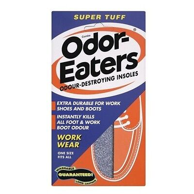Odor Eaters Insoles Super Tuff Pr For Work Shoes Through Zorbitex Technology