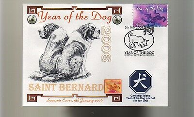 Saint Bernard 2006 Year Of The Dog Souv Cover 3