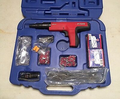Powers P3500 Powder Actuated Fastening Kit 27-Caliber Semi-Automatic