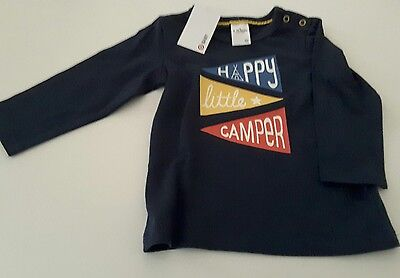 NEW  Baby Boy L/S Shirt - Size 6-12 mths - Cotton