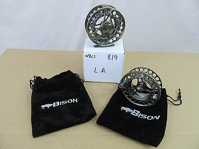 Special Offer Bison LA #8/9 Large Arbor Fly Fishing Reel & Spare Spool