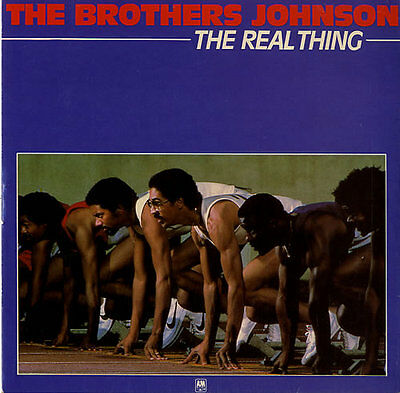 """Brothers Johnson The Real Thing 7"""" vinyl single record UK AMS8149 A&M 1981"""