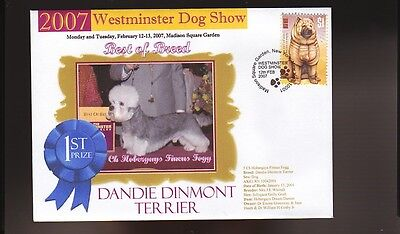 W/M 2007 DOG SHOW BEST of BREED COVER, DANDIE DINMONT