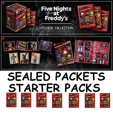 Five Nights At Freddy's Sticker Packs New Sealed Choose  5,10,18,25,50,100
