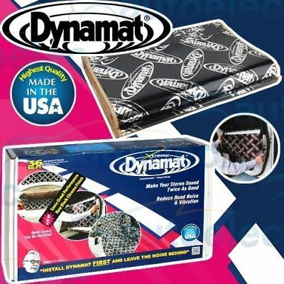 Dynamat Xtreme 9 Sheet Bulk Pack 10455 Road Noise Cancel Body Deadening Deadener
