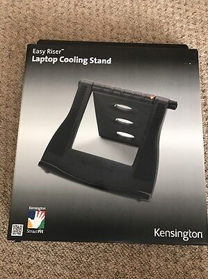 "Kensington SmartFit Easy Riser Cooling Stand Grey For 12"" to 17"" Laptops NEW"