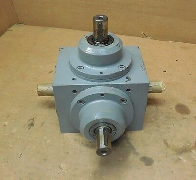 TANDLER 01-ZAM i-2;1-68068 4-WAY RIGHT ANGLE GEARBOX SPEED REDUCER 1:1