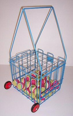 Top Jack 100 Capacity Tennis Ball Basket / Retriever.