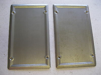 1966 67 68 69 70 Nova Chevy Ii Pair Of New Factory Style Speaker Grills Covers