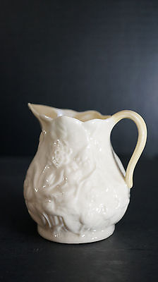 Belleek Third Black Mark Lotus Creamer Cream Pitcher Jug ca. 1936