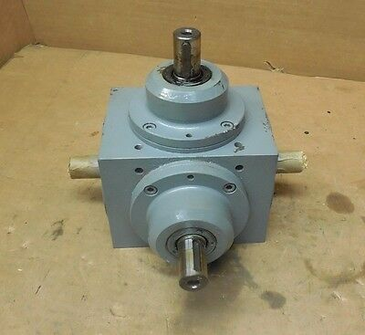 TANDLER 01-ZAM i-2;1-73171 4-WAY RIGHT ANGLE GEARBOX SPEED REDUCER 1:1