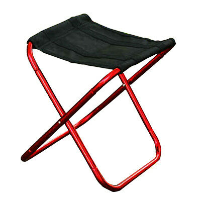 H3E# Outdoor Folding Chair 7075 Aluminum Alloy Fishing Camping Chair BBQ Stool