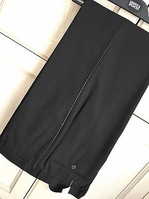 Mens M&s 36 38 40 Or 42 Waist Tuxedo Pants Dinner Suit Trousers Free Postage