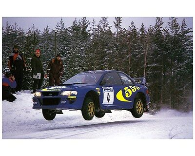 1998 Subaru Impreza WRX 555 STi WRC World Rally Champion Factory Photo ca7471