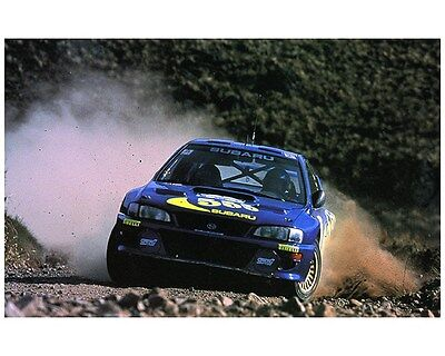 1998 Subaru Impreza WRX 555 STi WRC World Rally Champion Factory Photo ca7474