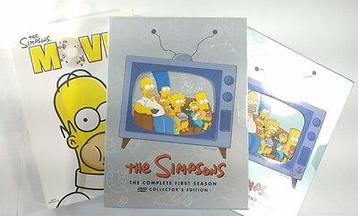 3 Simpsons Movies  Complete First Season Second Complete Season The Simpsons