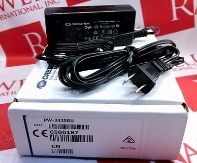 New Crestron PW-2420RU 24V 2.5A Power Supply