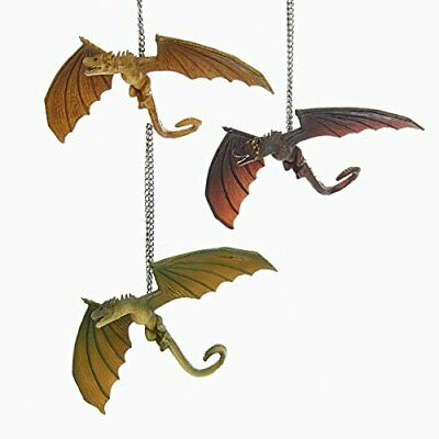 "Kurt Adler 4"" Game OF Thrones Dragon Ornament 3/a"
