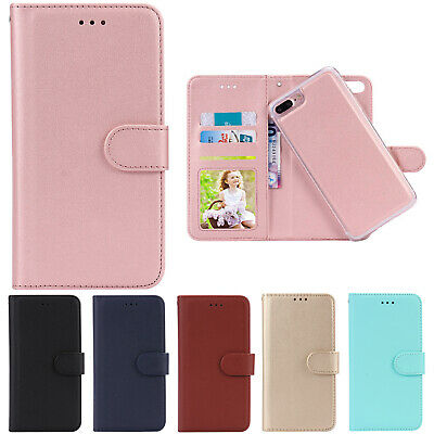 REMOVABLE Magnetic Detachable Leather Wallet Case Cover For iPhone Phones/XS Max