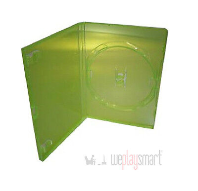 ONE New Replacement Green Microsoft Xbox 360 Game Dvd Case Cases