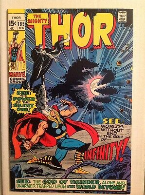 THOR #185 (Marvel 1971) HIGH GRADE 1st Appearance of Infinity! NM-!