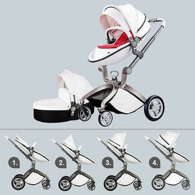 Baby Kids Stroller Newbaby 3 in1 Travel System Light Weight Portable Folding Car