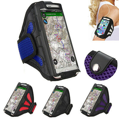 Gym Running Exercise Arm Band Sports Armband Case Holder For iphone 7 Samsung s8