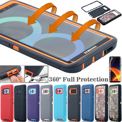 For Samsung Galaxy S8 Plus Shockproof Case Rugged Hybrid Rubber Heavy Duty Cover