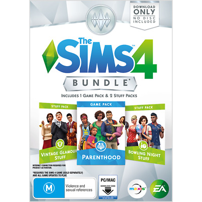 The Sims 4 Bundle Pack - PC - BRAND NEW