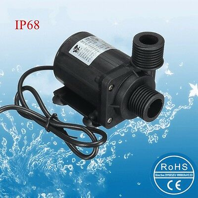 DC 12V 800L/H Water Circulation Pump Solar Water Pump Brushless Motor 5m Lift