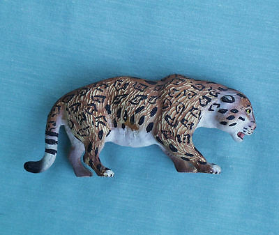 Elastolin Lineol Germany Snow Leopard Gepard No Snow Leopard Animal Figure