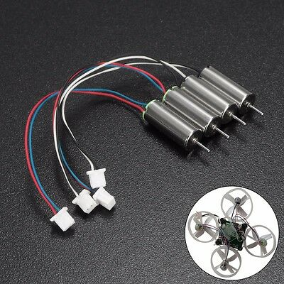 4pcs CW CCW Motor Blade Nano QX Blade Inductrix Tiny Whoop Fast Upgraded Motors