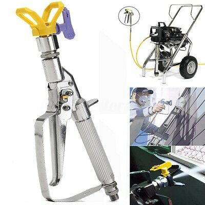 5000PSI Airless In Line Paint Spray Gun Pressure With 517 Tip Guard For Graco
