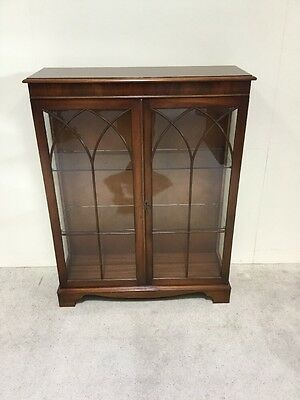 Regency Design Mahogany Display Cabinet China Cabinet Manner Bevan And Funnell