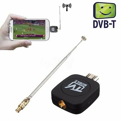 Micro USB DVB-T ISDB-T Digital TV Tuner Receiver For Android Phone HDTV Mobile